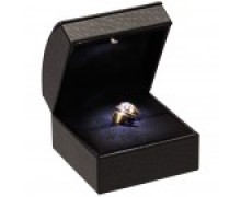 Ring Slot Box - Led Illuminated - Black interior