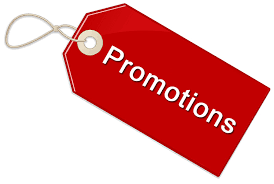 PROMOTIONS - OUTLET!