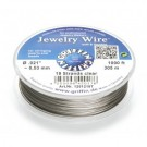 Stainless steel wire - 0.53mm/19strands Clear - 9.15m spool