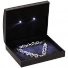 Necklace  Box - Led Illuminated - Black interior