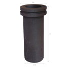 Graphite crucible for electric furnace 3kg