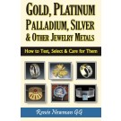 Gold, Platinum, Palladium, Silver & Other Jewelry Metals: How to Test, Select & Care for Them
