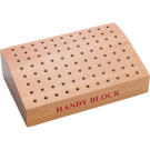 Wooden Bur Block - 88 holes